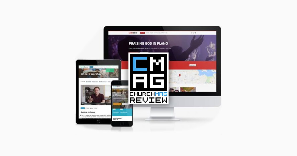 "New Church WordPress Theme: ""Saved"" [Review]"