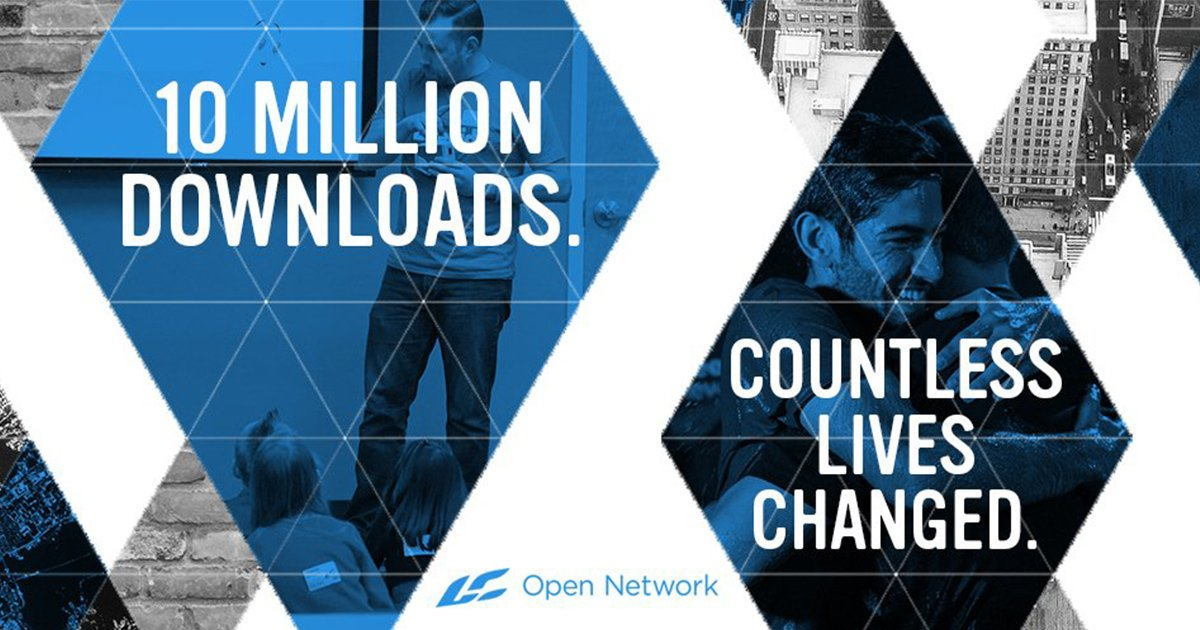 Congratulations, Open Network, on 10 Million Downloads