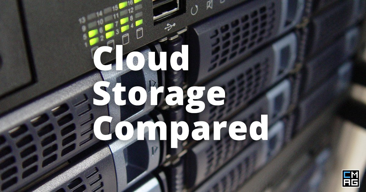 Cloud Storage Compared [Infographic]