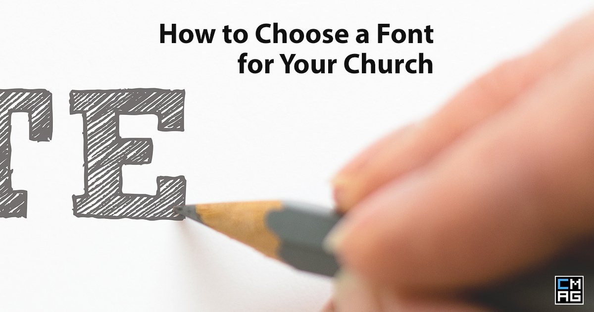 How to Choose a Font for your Church