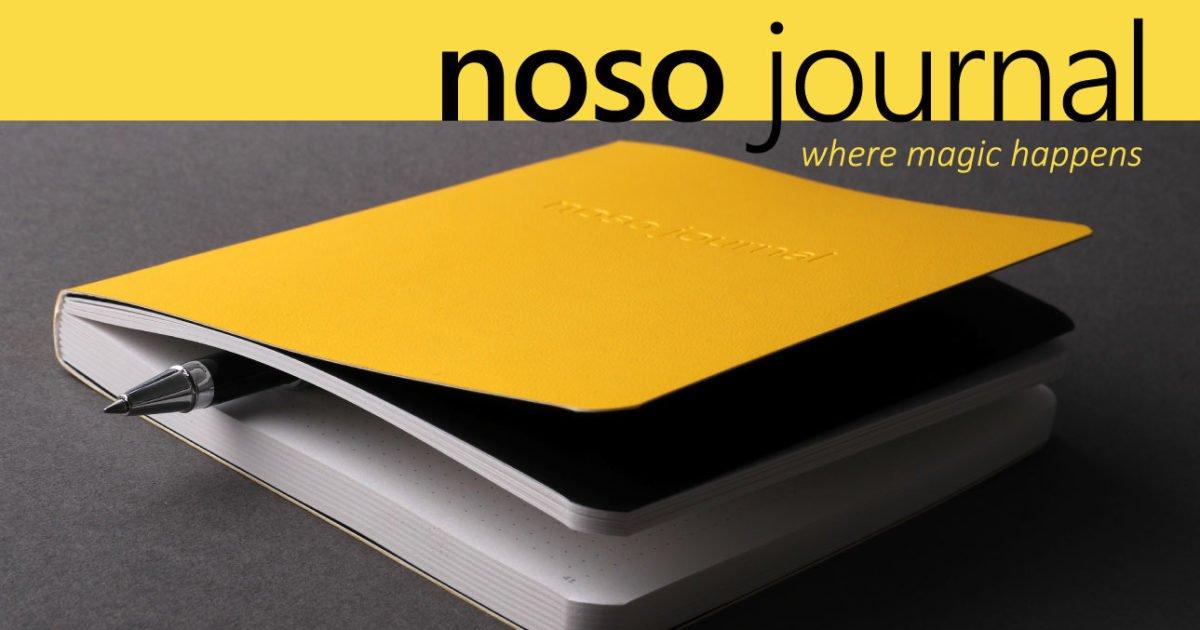 The NOSO Journal (Not On SOcial media) [Kickstarter]