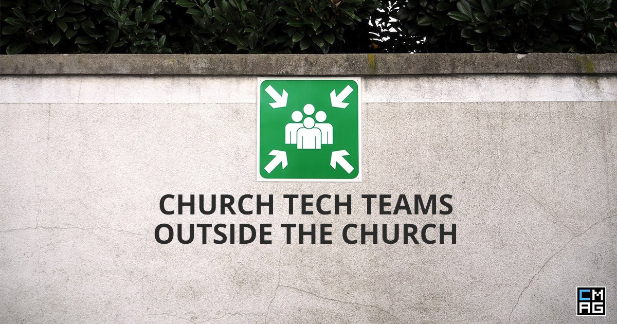 Why and How Church Tech Teams Can Get Involved In Communities Outside Church
