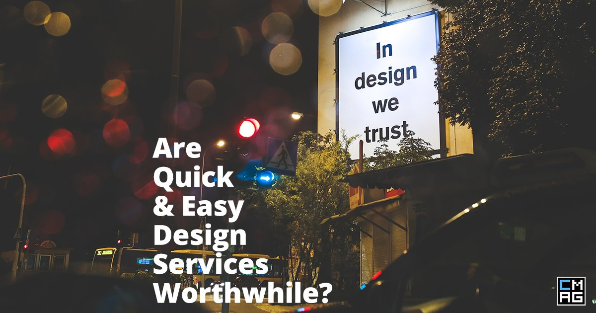Are Quick & Easy Design Services Worthwhile?