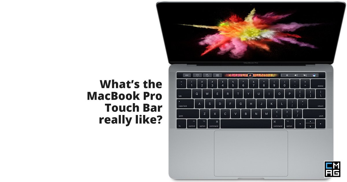 My Experience Using The MacBook Pro Touch Bar, Trackpad And