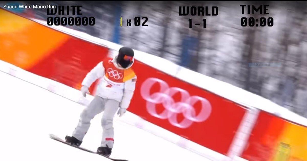 Shaun White + Mario Run [Video]