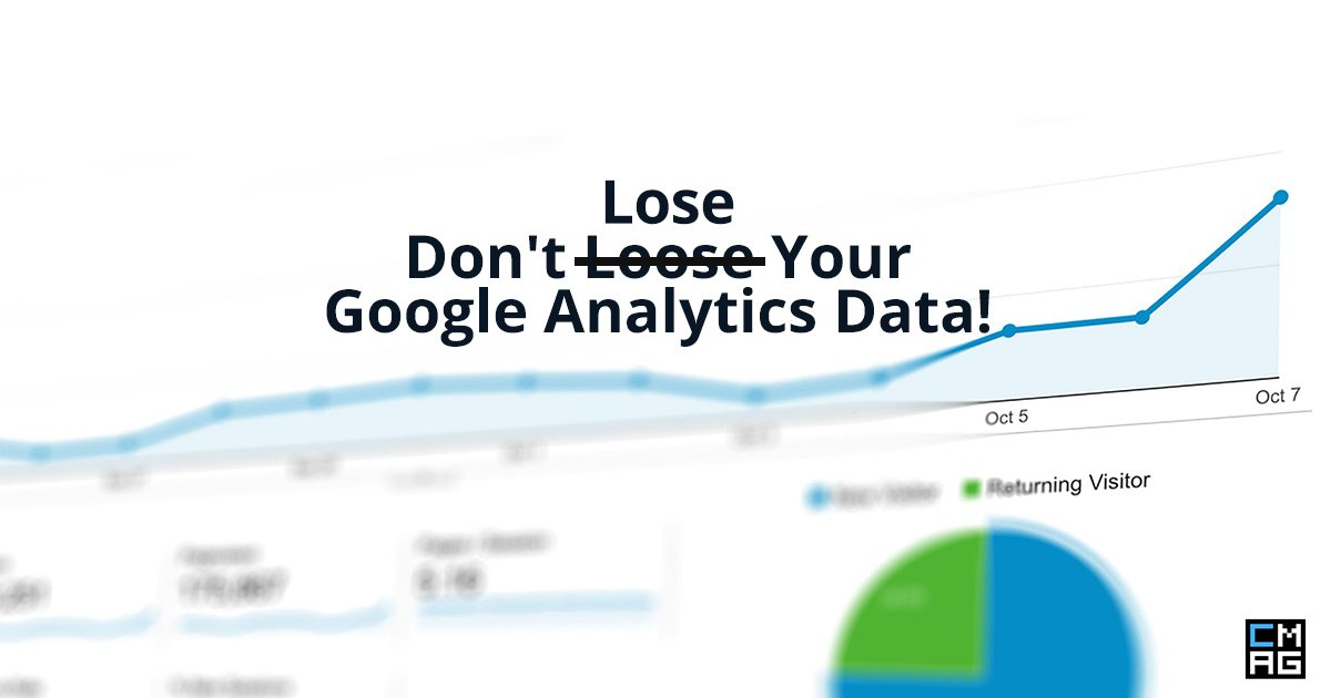 Don't Lose Your Google Analytics Data! [Change Coming May 25th]