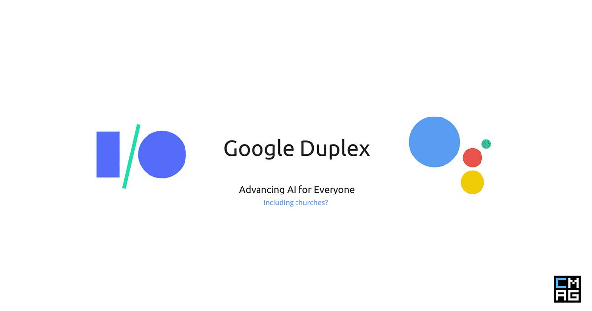 What Does Google Duplex Mean for Churches?
