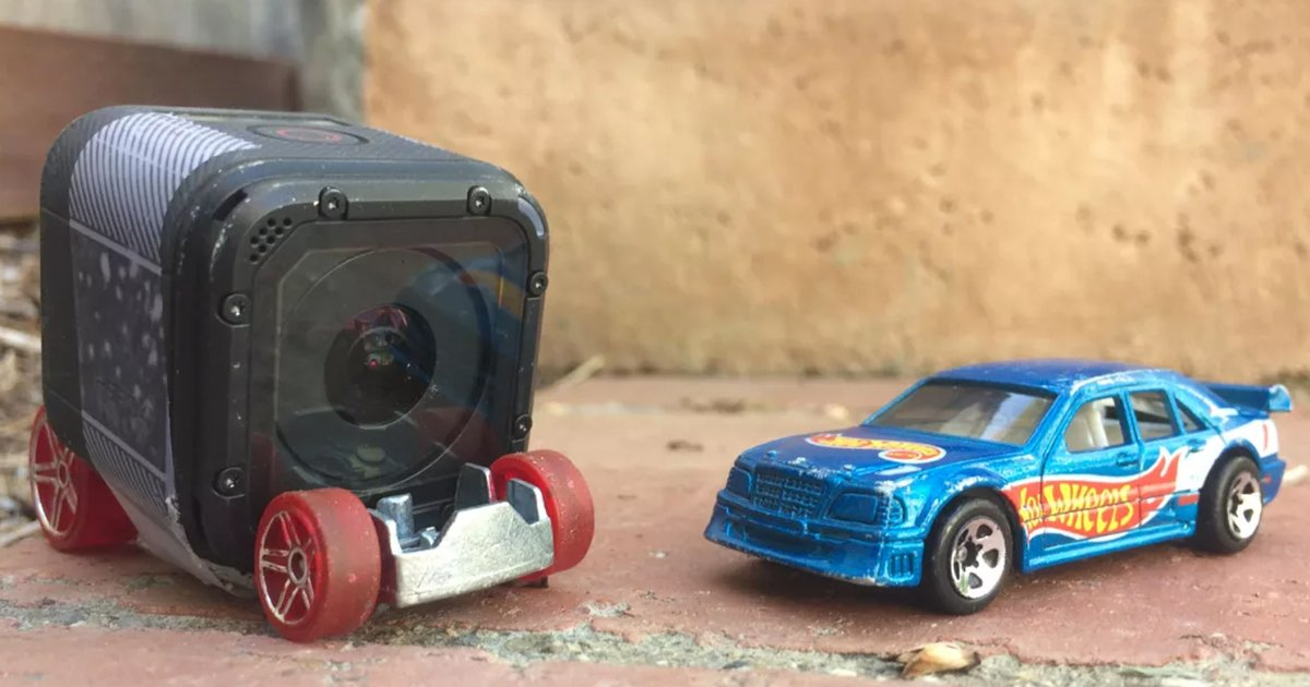GoPro Meets Hot Wheels [Video]