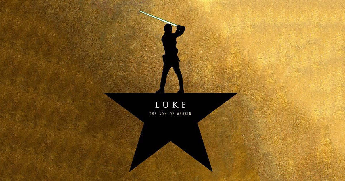 Luke the Son of Anakin: A Star Wars + Hamilton Parody [Video]