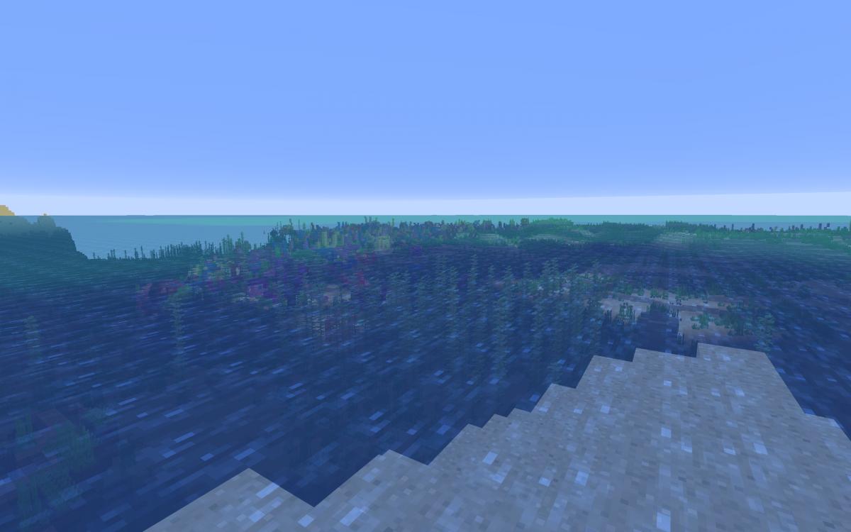 Best Island Seed Minecraft 1 13 Shipwrecks, Treasure, End