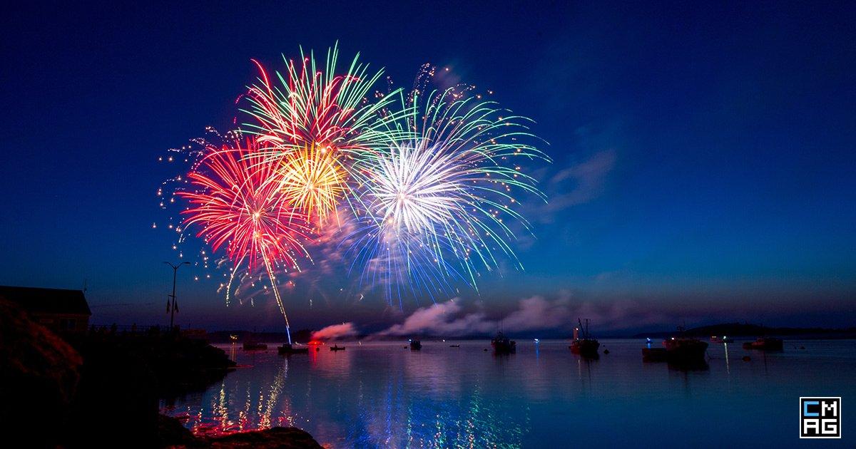 Fireworks in Reverse [Video]