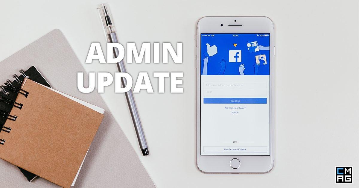 Facebook Group Admin Update