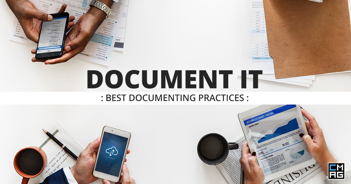 Document It: Best Documenting Practices