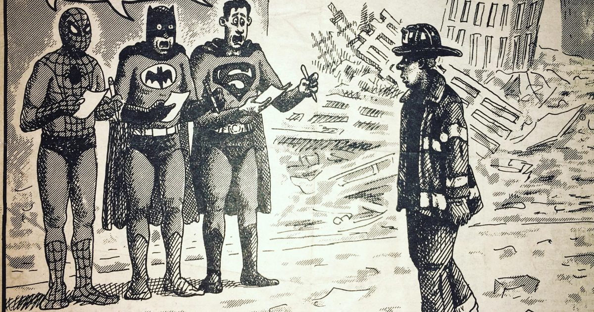 The Real Superheroes On 9-11