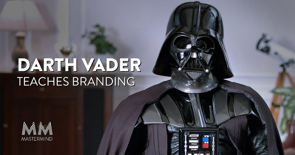 Darth Vader Teaches A Masterclass [Video]