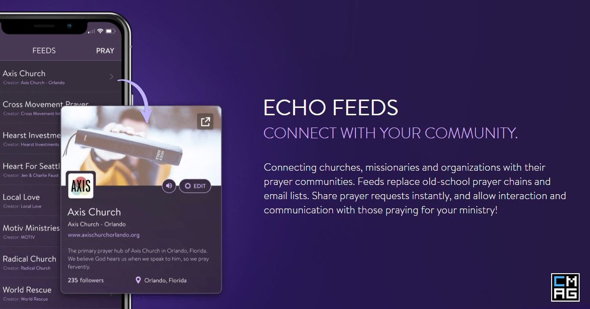 Echo Update: Prayer Feeds