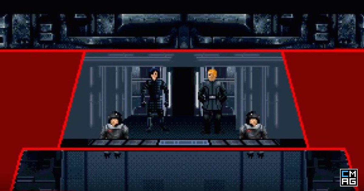 16-Bit Battle Between Luke Skywalker And Kylo Ren [Video]