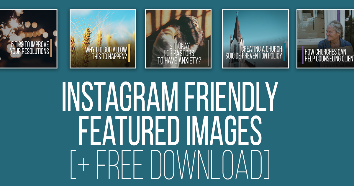 [FREE] Blog Featured Images That Are Instagram Friendly