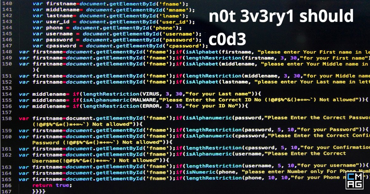Not Everyone Should Code [Video]