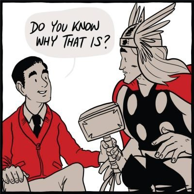Thor The God Of Thunder Meets Mr Rogers Churchmag