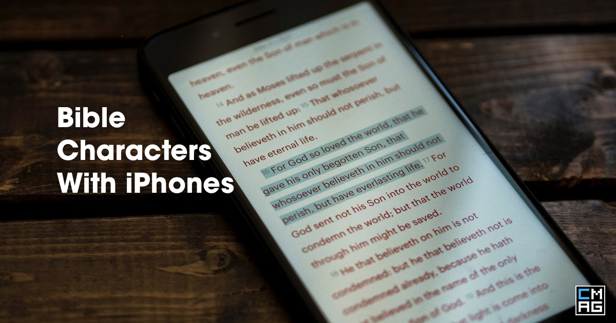 If Bible Characters Had iPhones [Video]