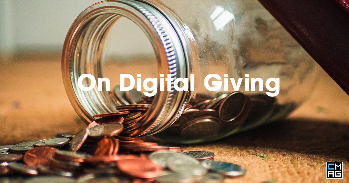 Digital Payments From A Giver's Perspective