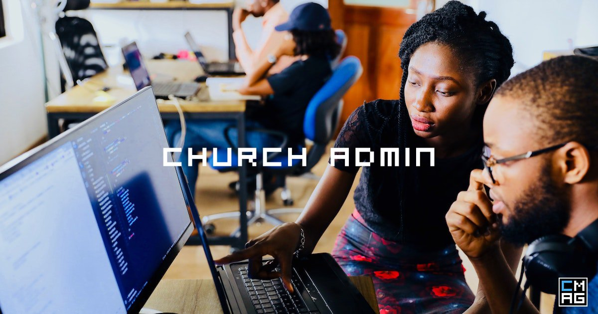 Making Church Admin Disappear