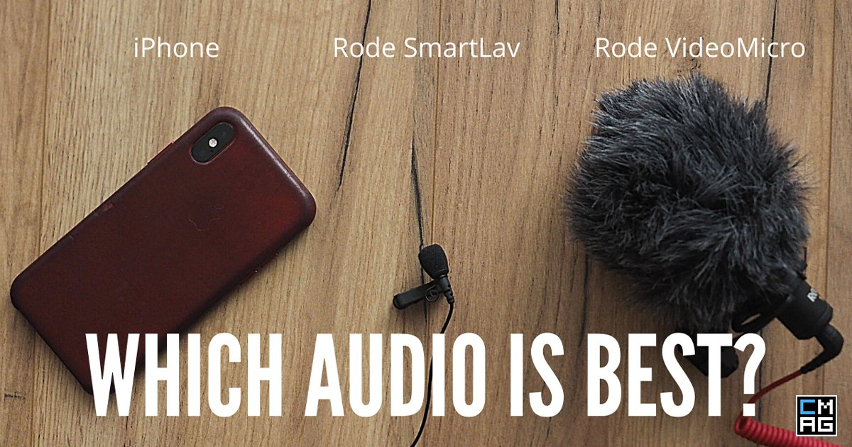 Rode Smartlav vs Rode VideoMicro vs iPhone - Best Audio for Smartphone Videos