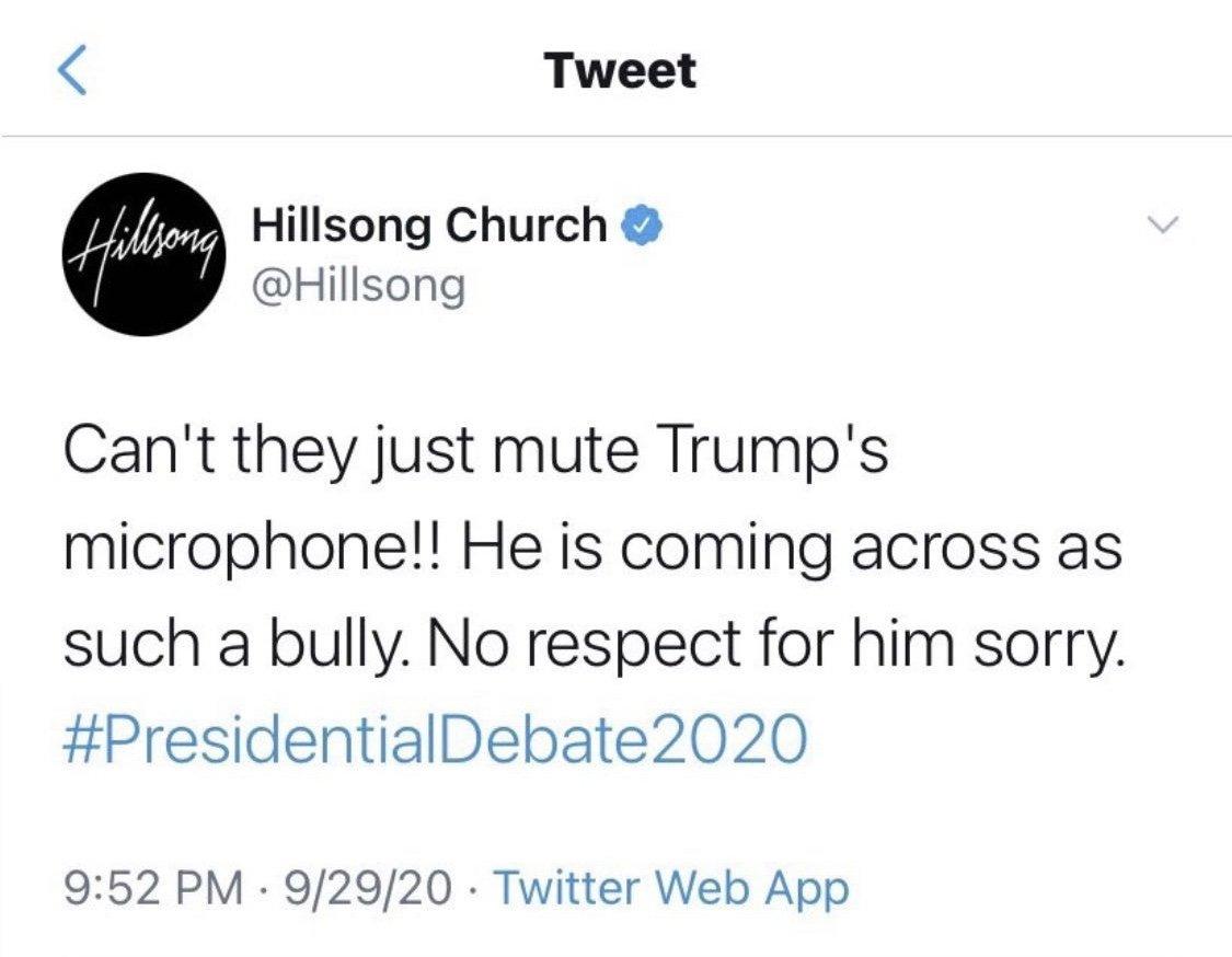 Hillsong Church Twitter Gaffe