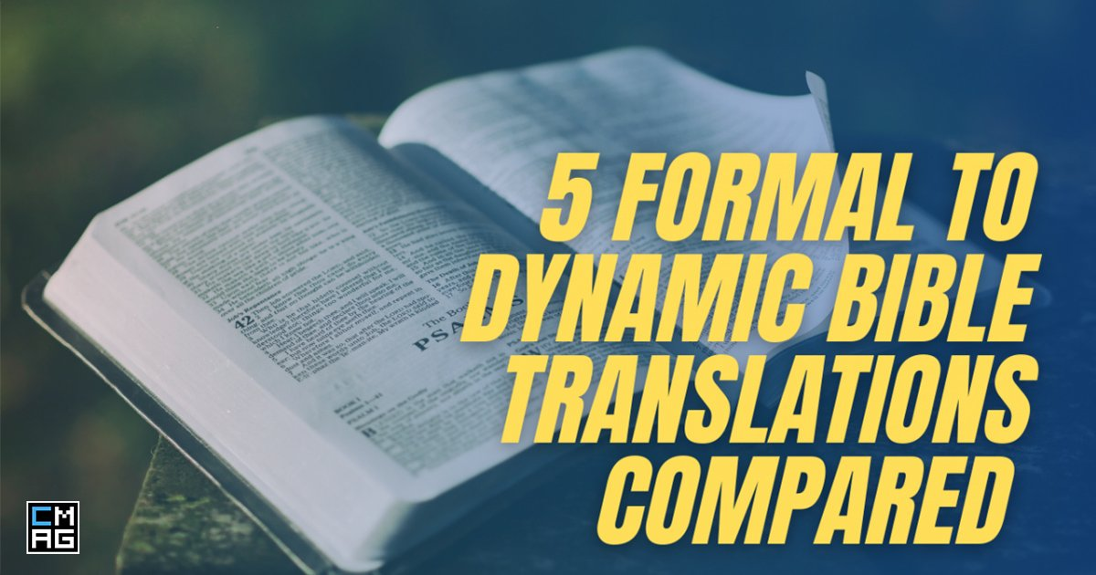 5 Examples of Formal and Dynamic Bible Translations